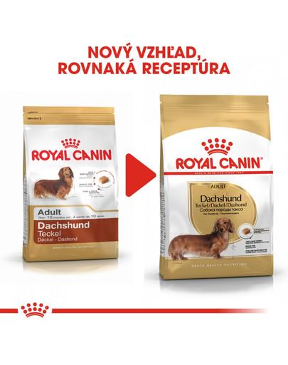 ROYAL CANIN Dachshund Adult 1,5 kg granule pre dospelého jazvečíka