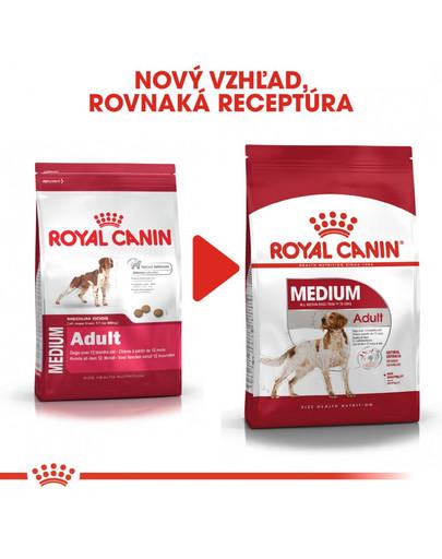 ROYAL CANIN Medium Adult 4 kg granule pre dospelé stredné psy