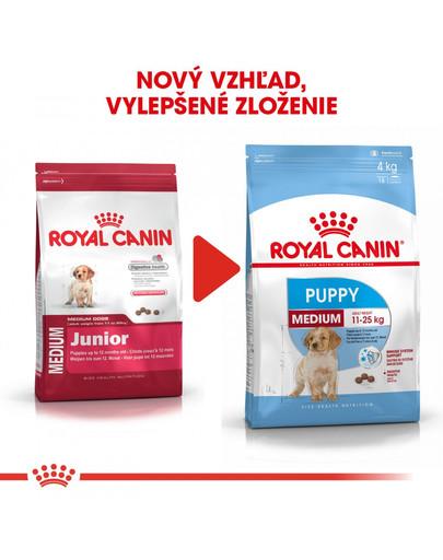ROYAL CANIN Medium Puppy 1 kg granule pre šteňatá strednej rasy