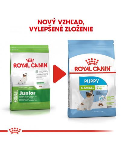 ROYAL CANIN X-Small Puppy 500g granule pre veľmi malé šteňatá