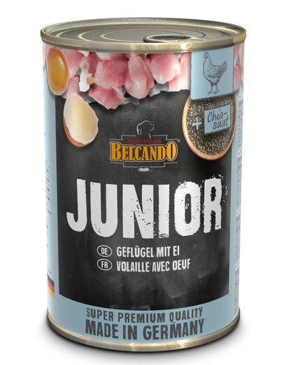 BELCANDO Junior Hydina a vajcia 400 g