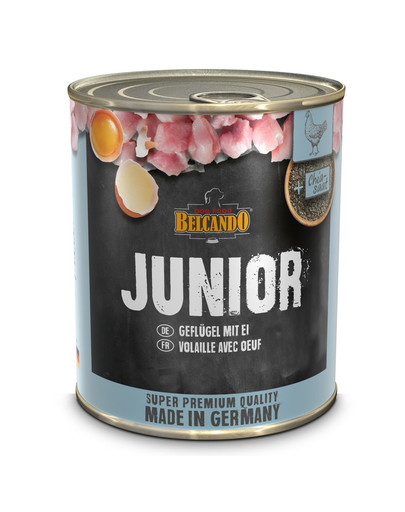 BELCANDO Junior kura+jajko 800 g