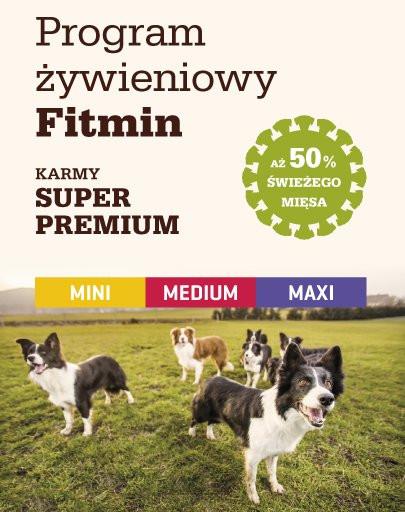 FITMIN Medium puppy 3 kg