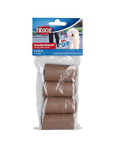 TRIXIE Bio sáčky na exkrementy 4x10 ks