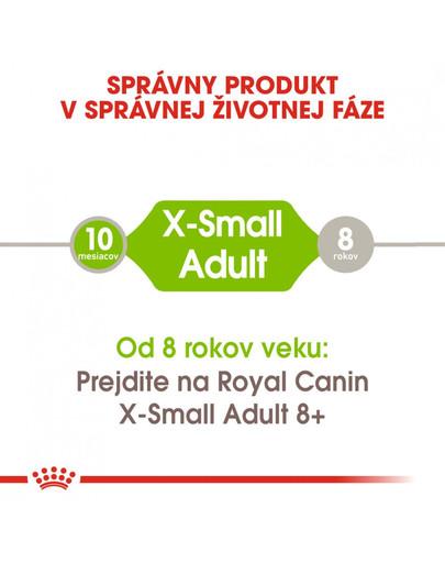 ROYAL CANIN X-Small adult 0.5 kg granule pre dospelé trpaslíčie psy