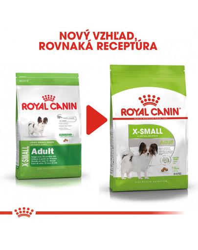 ROYAL CANIN X-Small adult 1.5 kg granule pre dospelé trpaslíčie psy