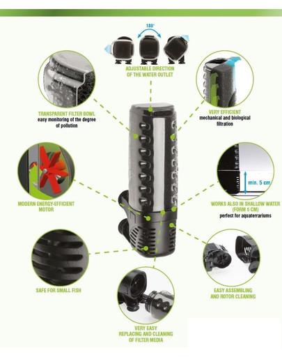 AQUAEL Filter vnútorný Asap 300