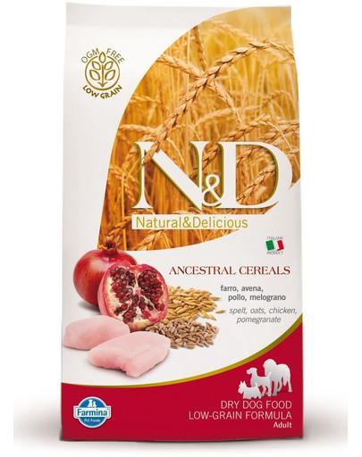 Farmina N & D Low Grain DOG Senior S/M Chicken & Pomegranate 2,5 kg