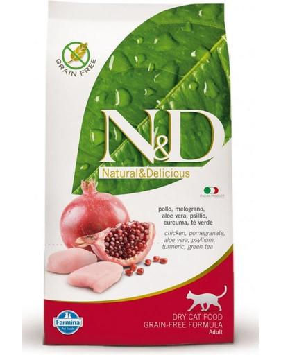 N&D GF cat Chicken & Pomegranate 1,5 kg