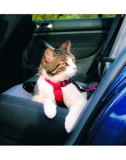 TRIXIE Postroj do auta pre mačky