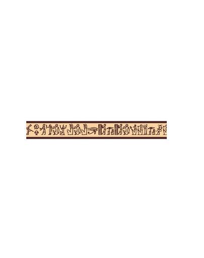 AMIPLAY Smycz nxr 100 - 200 cm / 2 cm wzór egipski