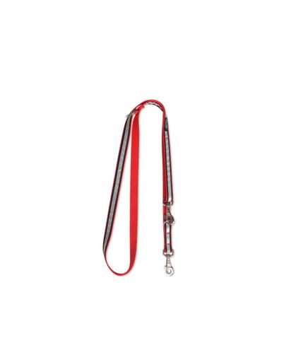 AMIPLAY Smycz nxor 100 - 200 cm / 2.5 cm czerwona