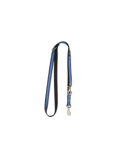 AMIPLAY Smycz reg. reflective xl 100 - 200 / 2.5 cm niebieska