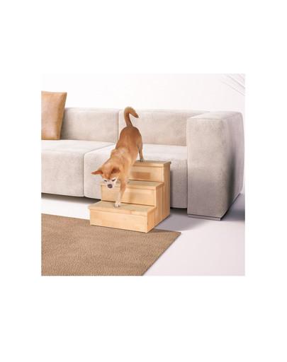 TRIXIE Schody drevené pre malé psy a mačky