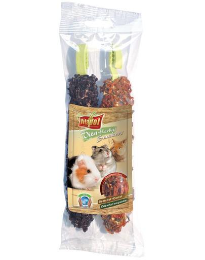 VITAPOL Smakers dla gryzoni i królika burak i marchew 2 szt.