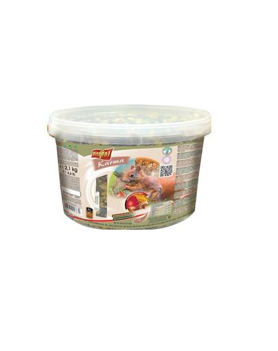 VITAPOL Pokrm pre veveričky 2.1 kg