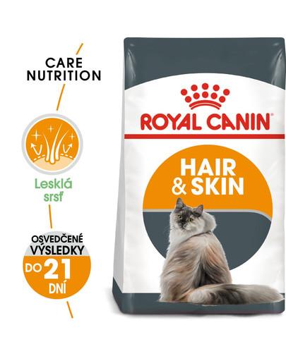 ROYAL CANIN Hair And Skin Care 10kg granule pre mačky pre zdravú kožu a srsť