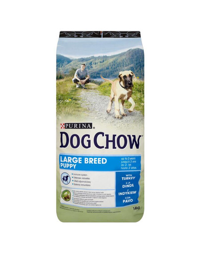 PURINA Purina dog chow puppy large breed indyk 14 kg