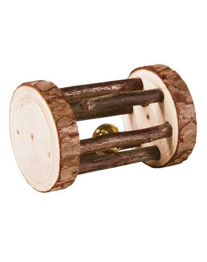TRIXIE Hračka pre hlodavce drevený valček