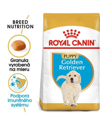 ROYAL CANIN Golden Retriever Puppy 12 kg granule pre šteňa zlatého retrievera