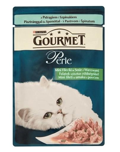 GOURMET Perle pstruh kapsička 85 g