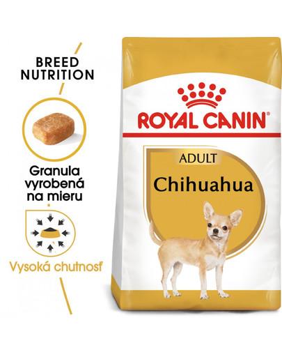 ROYAL CANIN Chihuahua Adult 1,5g granule pre dospelú čivavu