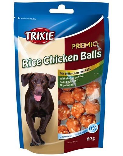TRIXIE Premio guličky ryžovo-kuracie 80 g