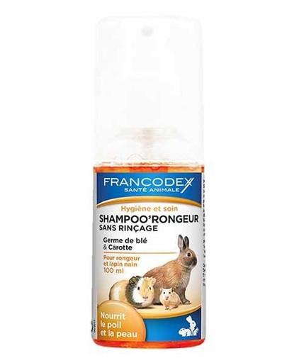 FRANCODEX Šampón pre hlodavce bez oplachovania 100 ml