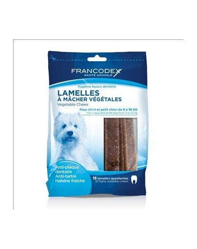 FRANCODEX Pásky na odstránenie zubného kameňa a zápachu z úst 224g / 15pásků