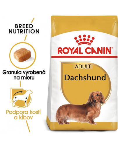 ROYAL CANIN Dachshund Adult 7,5 kg granule pre dospelého jazvečíka