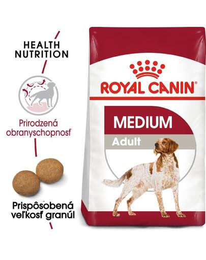 ROYAL CANIN Medium Adult 4kg granule pre dospelé stredné psy