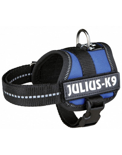 TRIXIE Postroj pre psov Julius-K9 postroj L - XL 71-96 cm modrý