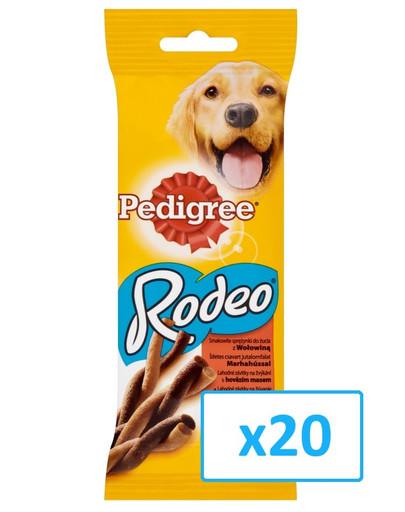 PEDIGREE Rodeo hovädzie 0.07 kg x20