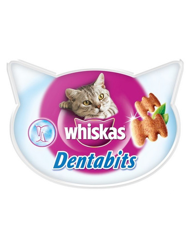 WHISKAS Dentabits na čistenie zubov 40g