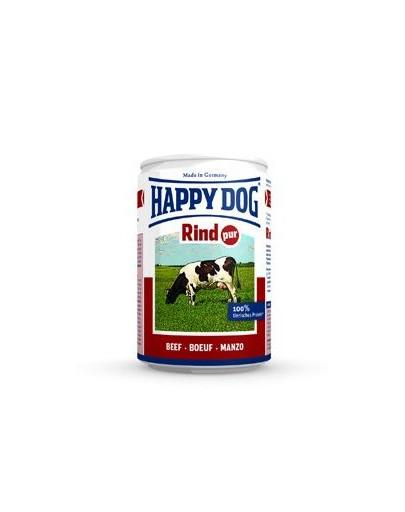 HAPPY DOG Konzerva pre psa - hovädzie (hovädzie čisté ) 400g