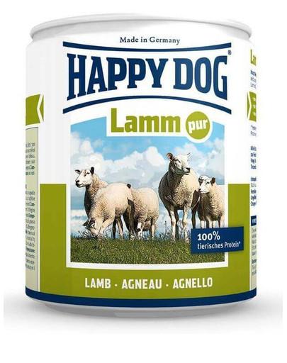 HAPPY DOG Konzerva pre psa - jahňacie (čisté jahňacie) 800g