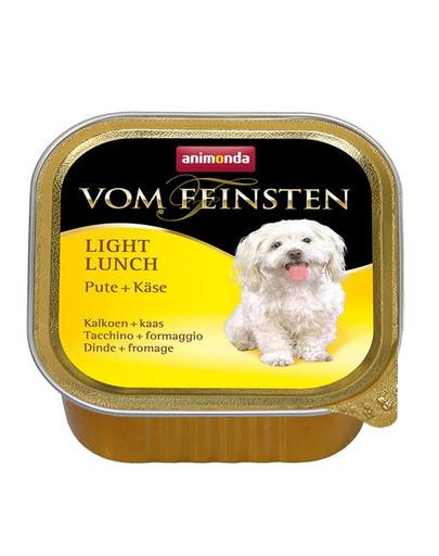 ANIMONDA Paštéta pre mačky vom Feinsten Light Lunch morčacie a syr 150 g