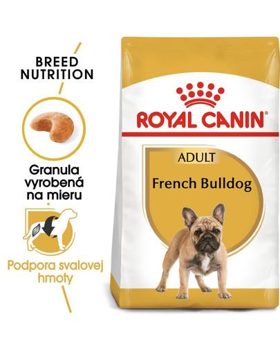 ROYAL CANIN French Bulldog Adult 1,5 kg granule pre dospelého francúzskeho buldočka