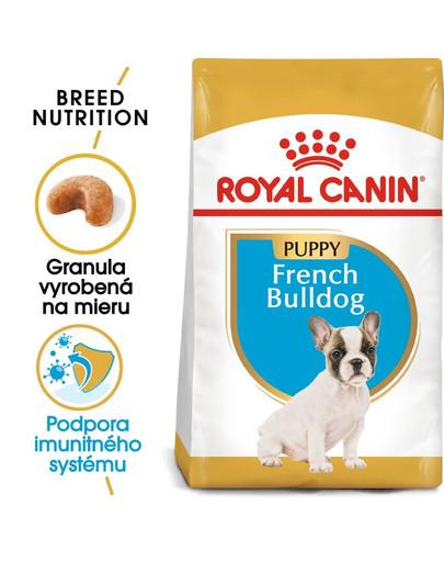 ROYAL CANIN French Bulldog Puppy 3kg granule pre šteňa francúzskeho buldočka