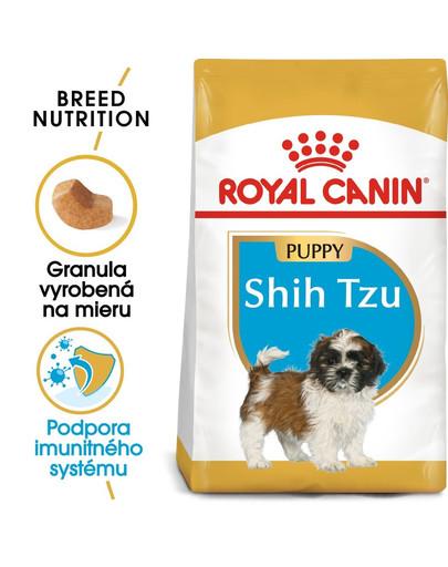 ROYAL CANIN Shih tzu Puppy 1,5 granule pre šteňa shih tzu