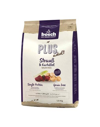 BOSCH Plus Pštros + zemiaky 1 kg
