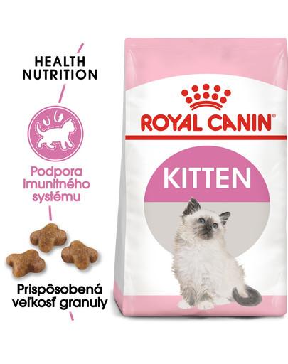 ROYAL CANIN Kitten 400g granule pre mačiatka