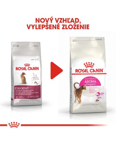 ROYAL CANIN EAromatic Exigent 400g granule pre maškrtné mačky