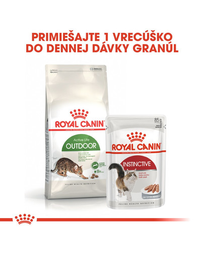 ROYAL CANIN Outdoor 4kg granule pre mačky s častým pohybom vonku