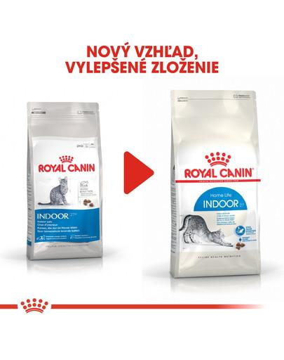 ROYAL CANIN Indoor 2kg granule pre mačky žijúce vo vnútri