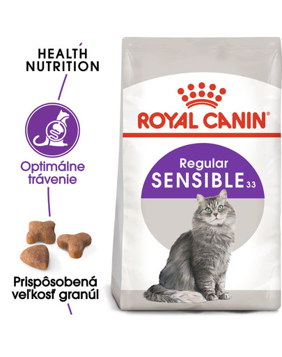 ROYAL CANIN Sensible 400g granule pre mačky s citlivým trávením