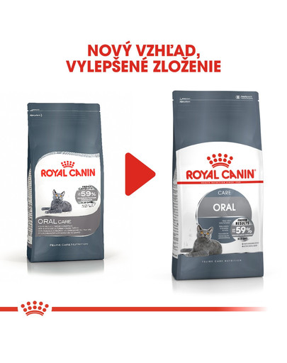 ROYAL CANIN Oral Care 0.4 kg granule pre mačky znižujúce tvorbu zubného kameňa