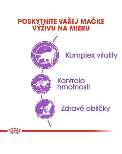 ROYAL CANIN Sterilised 7+ granule 400g pre starnúce kastrované mačky