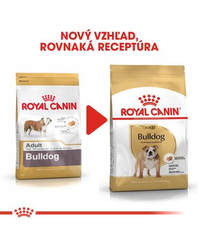ROYAL CANIN Bulldog Adult 12kg granule pre dospelého buldoga