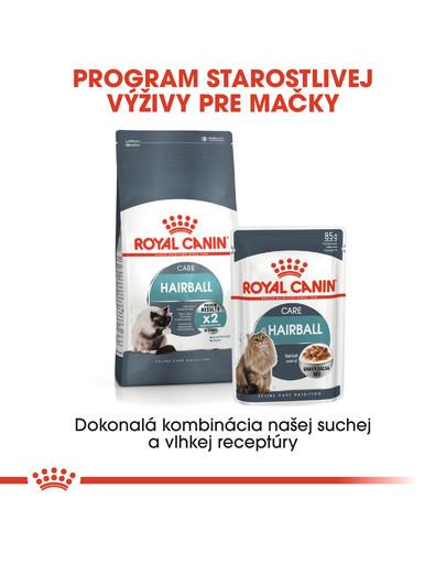 ROYAL CANIN Hairball Care 400g granule pre mačky pre správne vylučovanie